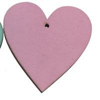 Pink Wooden Heart [+£1.80]