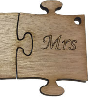 Wooden Ms Puzzle [+£0.90]