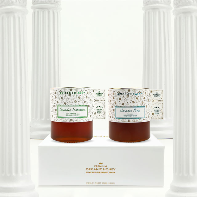 Greek Organic Pure Honey